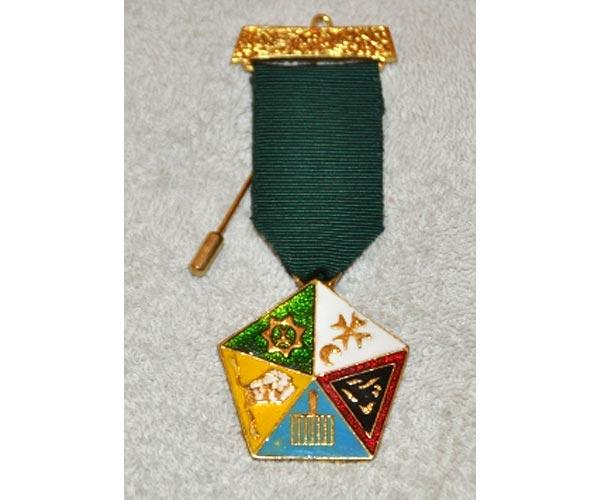 Allied Masonic Degrees – Breast Jewel